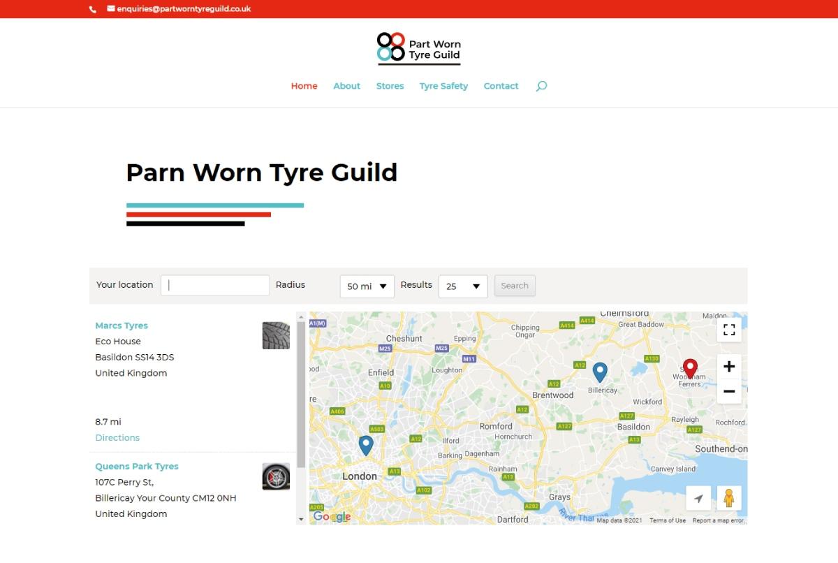 Action Designs Designed Part Worn Tyres Guild